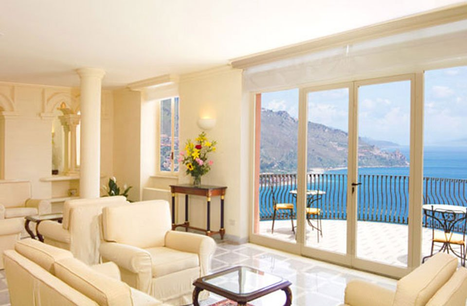 grand hotel miramare taormina  camera vista mare